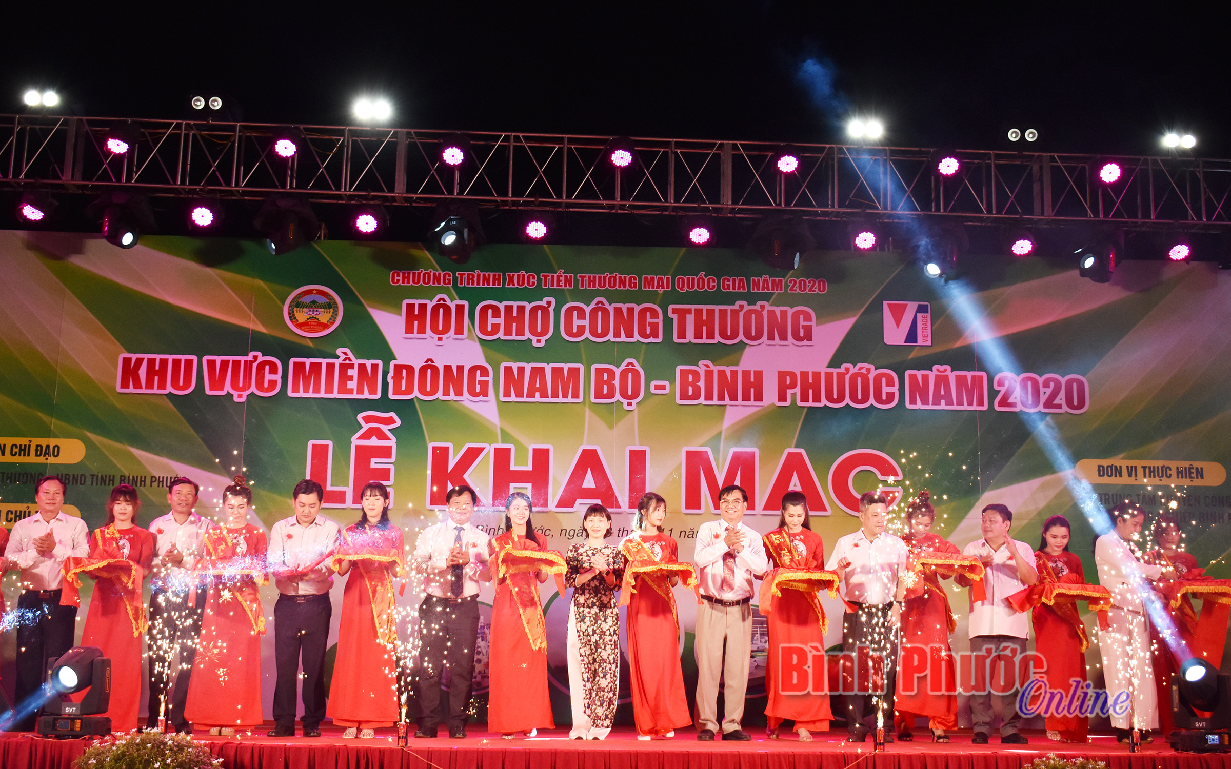 Khai mạc Hội chợ Công thương khu vực Đông Nam bộ - Bình Phước năm 2020