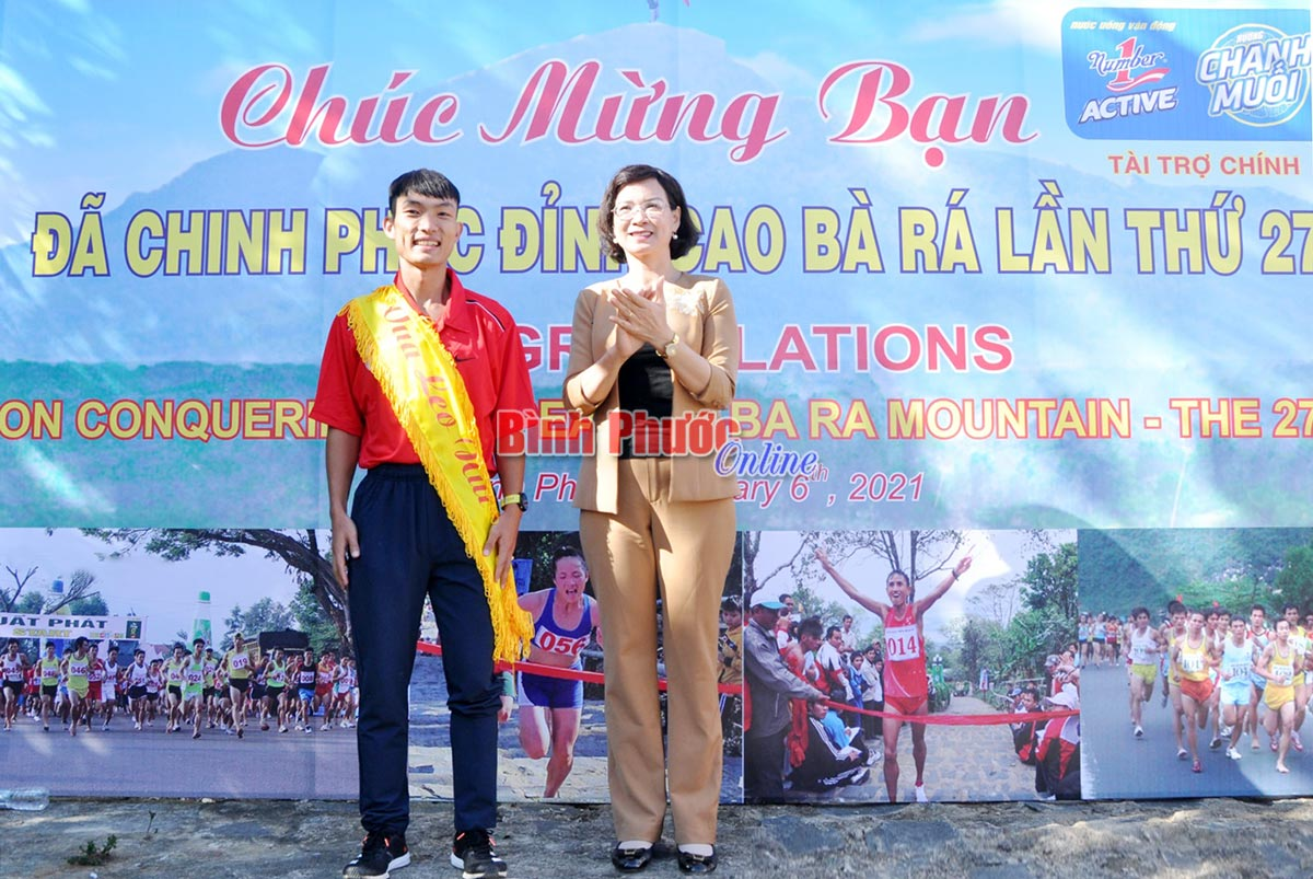 """Bình Phước thắng lớn tại Giải vô địch quốc gia việt dã leo núi """"Chinh phục đỉnh cao Bà Rá"""" lần thứ 27"""