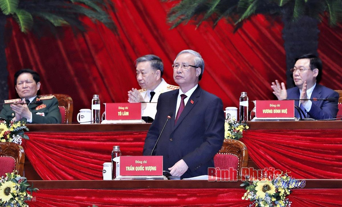 Bí thư Tỉnh ủy Nguyễn Văn Lợi tái đắc cử Ủy viên Ban Chấp hành Trung ương Đảng khóa XIII