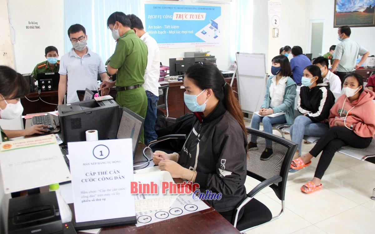 Từ ngày 23/2021sẽ cấp thẻ căn cước công dân tại các huyện, Thị xã, Thành phố