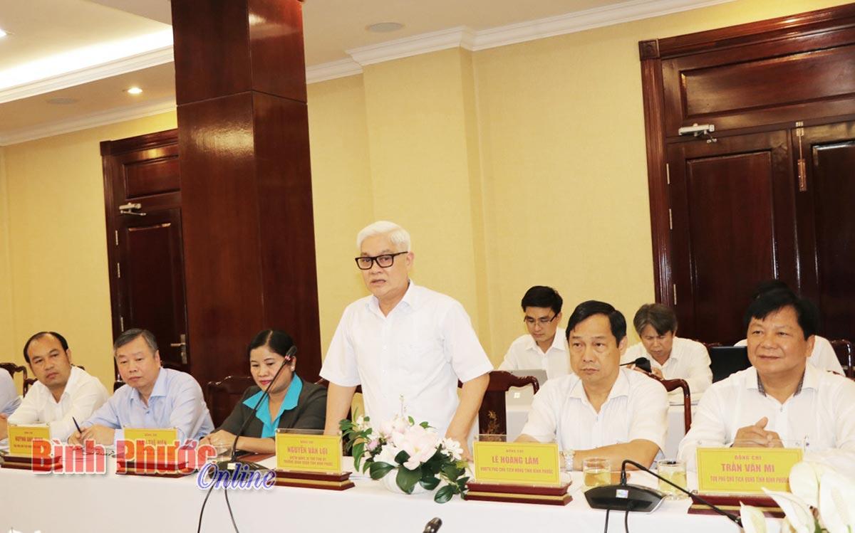 Bình Phước - Đắk Nông phối hợp đầu tư làm đường cao tốc