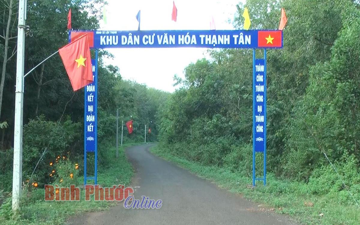 Thạnh Tân giữ vững danh hiệu khu dân cư văn hóa