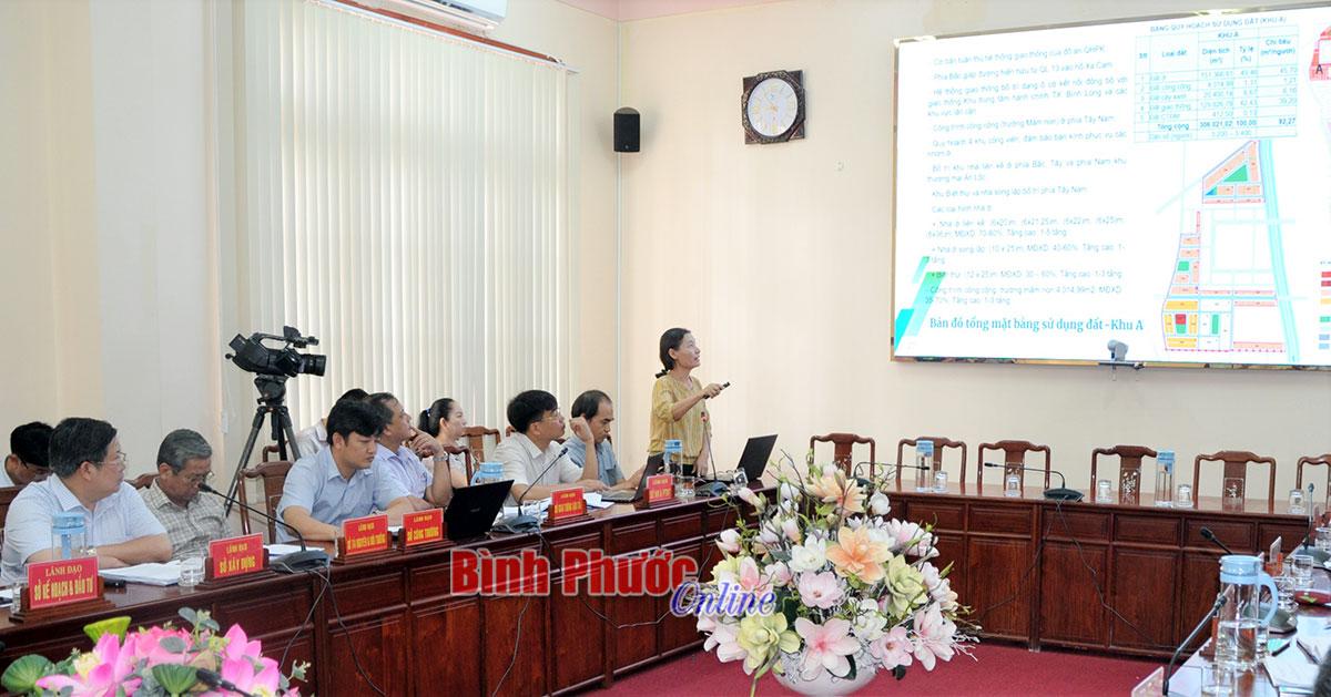 Thông qua quy hoạch chi tiết khu đô thị mới Nam An Lộc