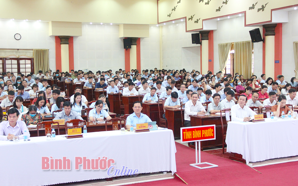 Bình Phước tiếp tục quán triệt sâu sắc Nghị quyết Đại hội XIII của Đảng