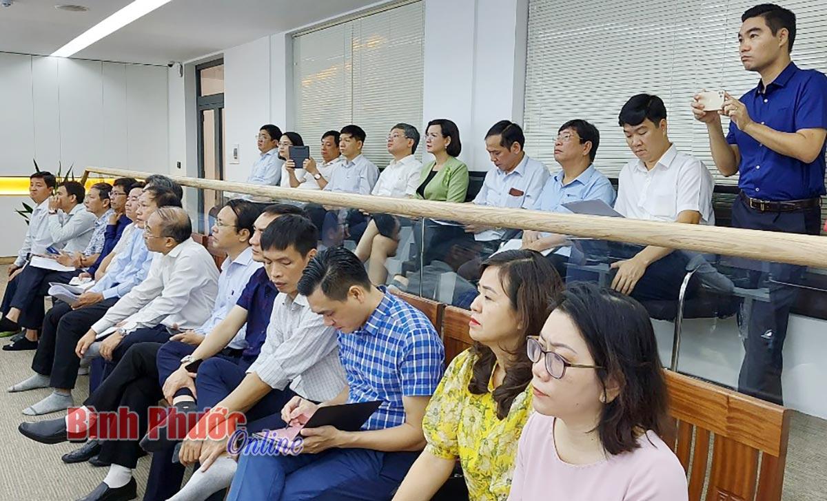 Bình Phước - Hưng Yên: Trao đổi kinh nghiệm về xây dựng chính quyền điện tử