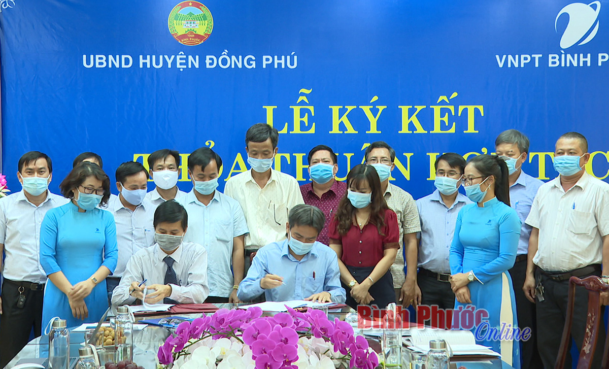 Xây dựng Đồng Phú phát triển thành địa phương thông minh giai đoạn 2021-2025