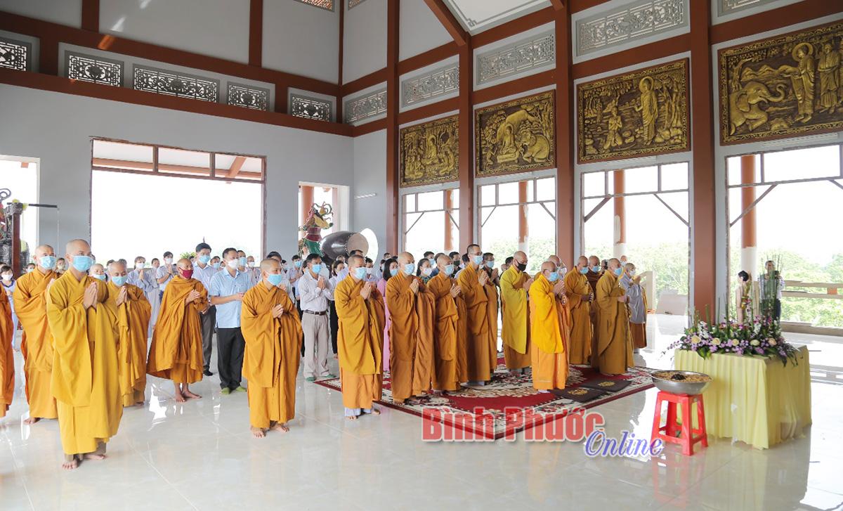 Đại lễ Phật đản đảm bảo an toàn chống dịch Covid-19