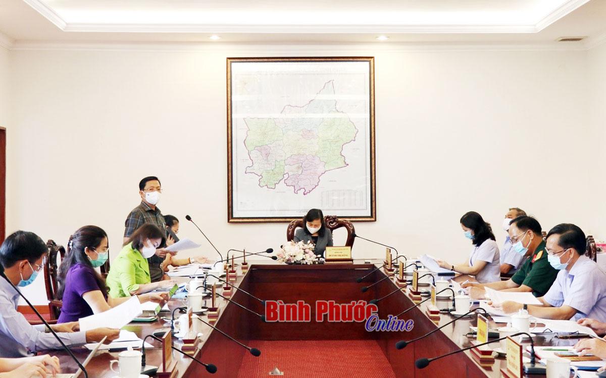 Ban chủ nhiệm 75 thông qua các dự án nâng cao chất lượng công tác trong tình hình mới