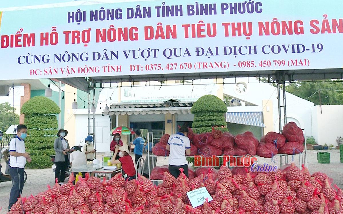 Hỗ trợ người dân tiêu thụ nông sản trong dịch Covid-19