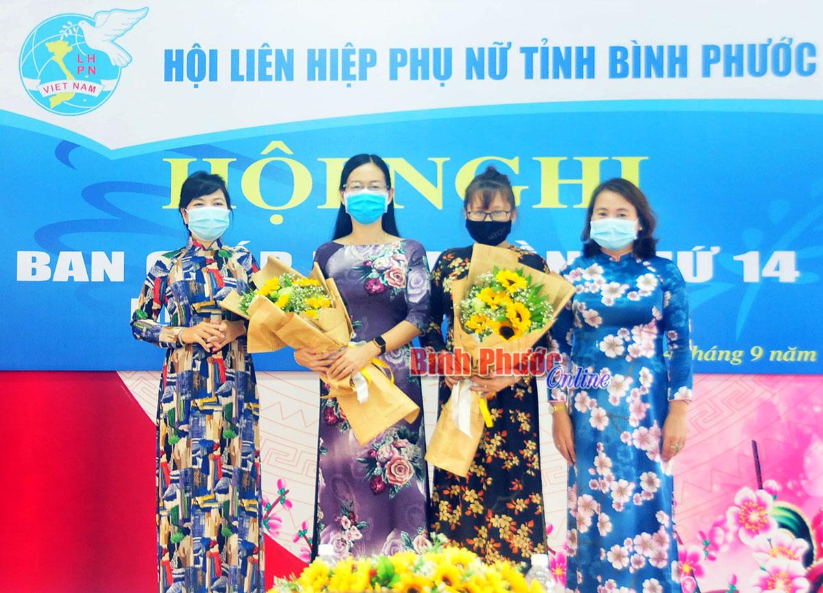 Bà Lê Thị Thanh Loan được bầu giữ chức Chủ tịch Hội LHPN tỉnh Bình Phước