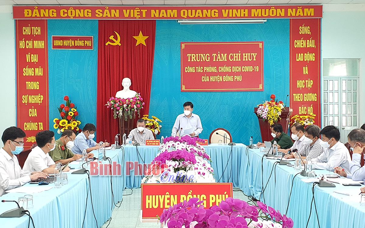 Lấy mẫu diện rộng toàn thị trấn Tân Phú để sàng lọc F0 trong cộng đồng